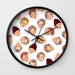 AN ABUNDANCE OF EVAKS Wall Clock