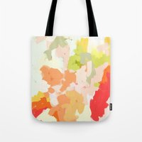 jessica lange Tote Bags featuring Jessica by Patricia Vargas