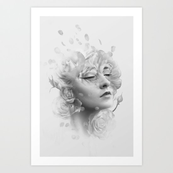 Efflorescent Art Print