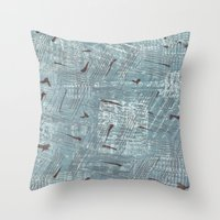 50s Throw Pillows featuring 50s inspired1 by Pagan Sovereign Studios