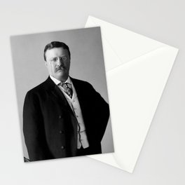 Theodore Roosevelt - 26th President of United States of America Stationery Cards