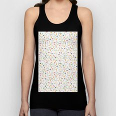 For the love of stationery  Unisex Tank Top