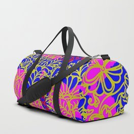 Night In the Jungle Garden, Pink Duffle Bag