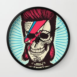 Ziggy Skulldust Wall Clock