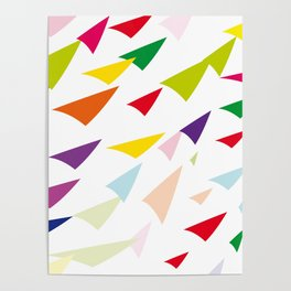 colored arrows Poster