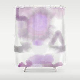 Feelings Shower Curtain