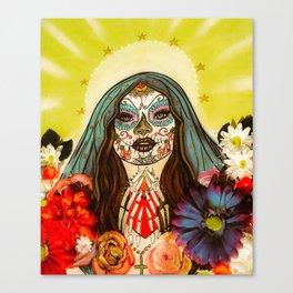 Pray for me Canvas Print