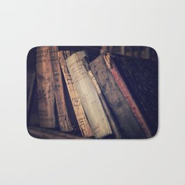 Old Books 2 Bath Mat