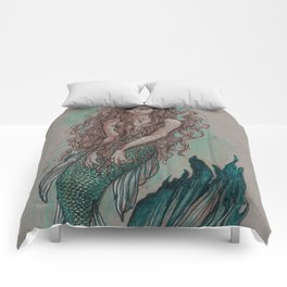 Mermaid Sea Enchanter Comforters
