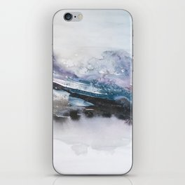 the beauty of impermanence II iPhone Skin