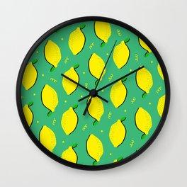 Lemon Squeezy 01 Wall Clock