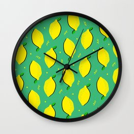 Lemon Squeezy 01 Wall Clock