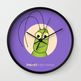 Kevin the Katydid Wall Clock