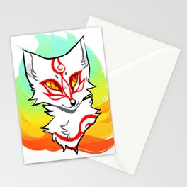 Okami shiranui Stationery Cards