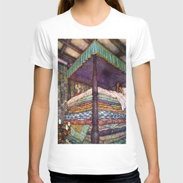 Princess and the Pea By Edmund Dulac T-shirt