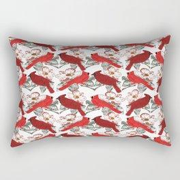Little Cardinals Rectangular Pillow