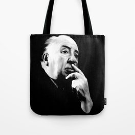 ALFRED HITCHCOCK: Legend Tote Bag