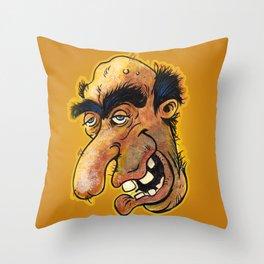 Weird-Ass Face #3 Throw Pillow