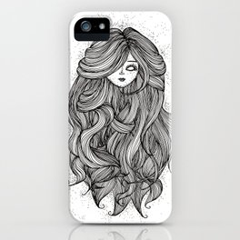 Doll head iPhone Case