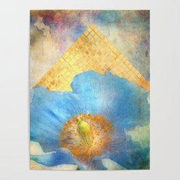 Sky Poppy Poster