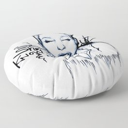 #STUKGIRL Danielle Floor Pillow