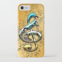 decorative iPhone & iPod Cases featuring Decorative clef  by nicky2342
