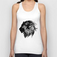 lions Tank Tops featuring Proud Lions by Harry Martin
