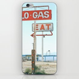 Town Pump iPhone Skin