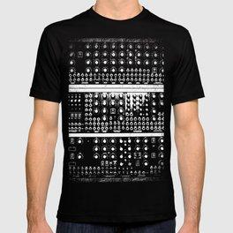 Retro Modular Synthesizer T-shirt