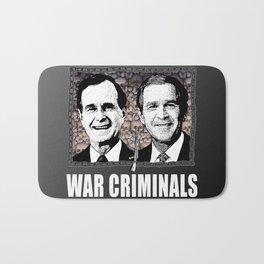 Bush n' Bush: War Criminals.  Bath Mat