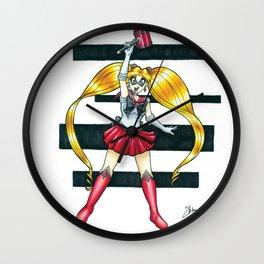 Moonlight Mallet Wall Clock