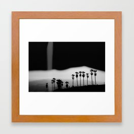Palm Trails Framed Art Print