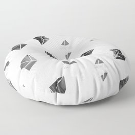 Marble Fragments Floor Pillow