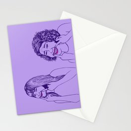 Don't Tell Us To Smile // Broad City Stationery Cards