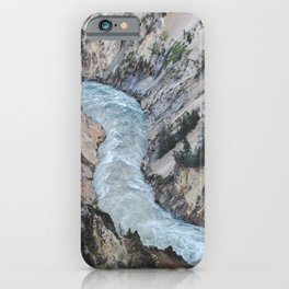 Yellowstone River Grand Canyon Adventure iPhone Case