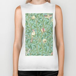 "William Morris ""Bird & Pomegranate"" 3. Biker Tank"