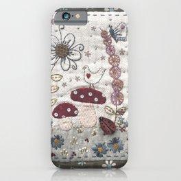 Mushroom Corner iPhone Case