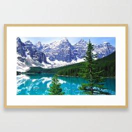 Canadian Wonder: Moraine Lake Framed Art Print