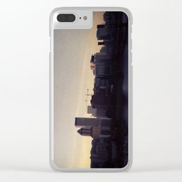 Portland at Dusk Clear iPhone Case