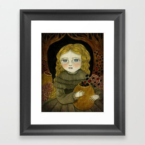 The Garden Tamer Framed Art Print