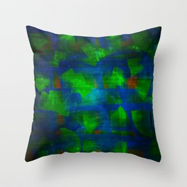 Troubling Thoughts Throw Pillow