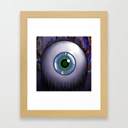 The City Is Watching Framed Art Print