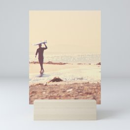 Surfer photograph. A Visceral Need Mini Art Print