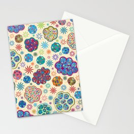 Cilia Breathe, a microscopic cross-section view Stationery Cards