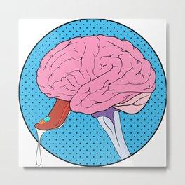 Brain Candy Metal Print