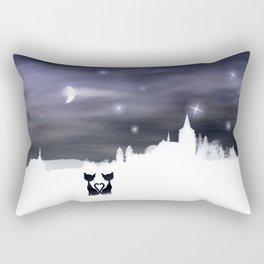 Cats on tour 2 Rectangular Pillow