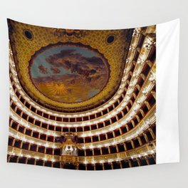 Royal Theatre of Saint Charles Wall Tapestry