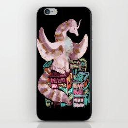 dragon cyberpunk iPhone Skin