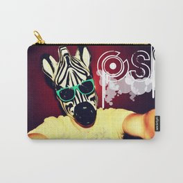 The Zebra Carry-All Pouch
