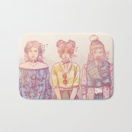 Three Wise Sisters Bath Mat